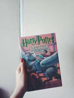 Harry Potter and the Prisoner of Azkaban (hardbound) by JK Rowling