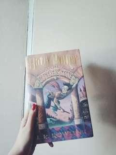 Harry Potter and the Sorcerer's Stone (hardbound) by JK Rowling