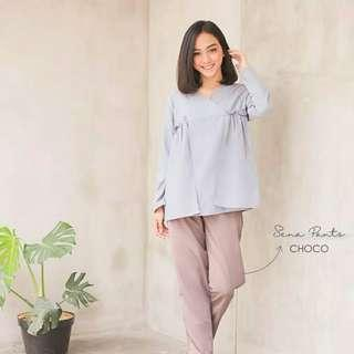 Mayoutfit blouse (Grey)