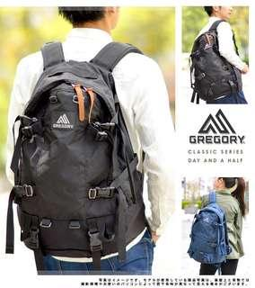 Gregory Backpack 33L DAY AND A HALF  ( DAY 1/2 )