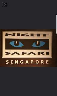Singapore Night Safari