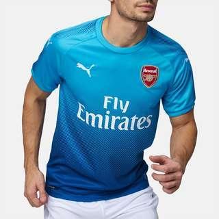 Arsenal Away Soccer Jersey Blue (Size S)