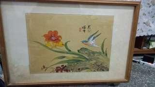 🚚 中國水墨畫(娟布〉