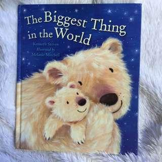 The Biggest Thing In The World - Preloved Story Book