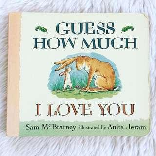 Guess How Much I Love You - Boardbook