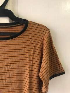Brown Stripes Top