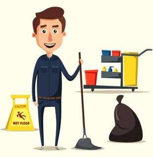Full-Time Cleaner Needed