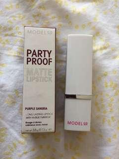 Model Co Party Proof Matte Lipstick