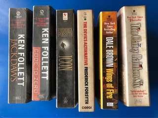 spy thrillers bundle