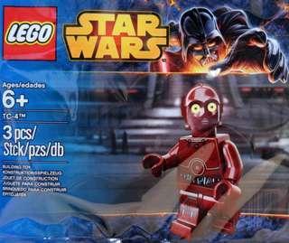 Lego Star Wars TC - 4 Polybag 5002122