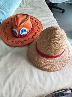 One Piece Ace and Luffy Hat