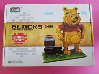 Winnie the pooh nanoblock