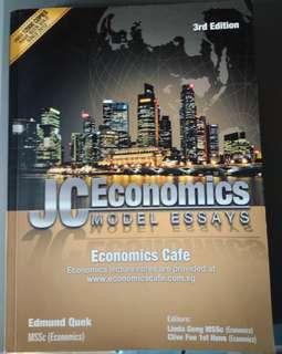 JC economics model essays