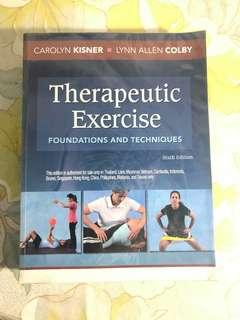 Therapeutic Exercises (6th Ed) by Kisner