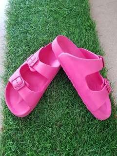 BN girly Pink slip on/ sandals/ slippers