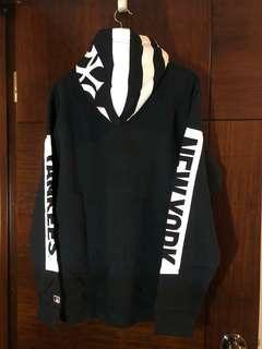 NY Yankees 黑色衛衣 size L