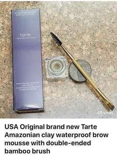 USA Original brand new Tarte Amazonian clay waterproof brow mousse
