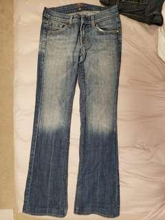 7 for all mankind Jean's size 26