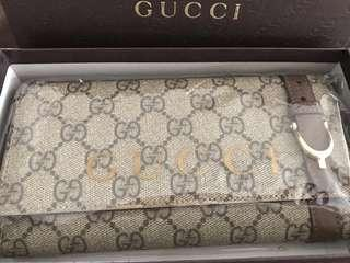 PRELOVED GUCCI GG NICE CONTINENTAL WALLET