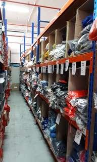 Industrial shelving unit can take heavy weight