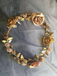 Rose gold headpiece