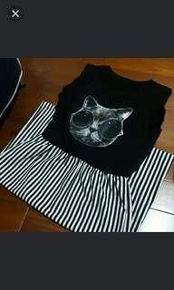🚚 貓臉連身裙
