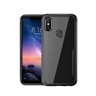 🚚 Full Protective Shockproof Hard Case Xiaomi Redmi Note 6 Pro