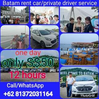 Batam tour/batam private driver