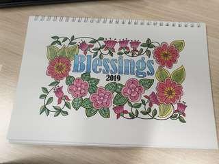 2019 calendar- Church of Christ pasir panjang