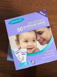 Lansinoh 50 Milk Storage Bag