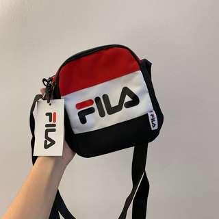PO) Authentic FILA E-Mook Sling Bag 0502dbf18d2a8
