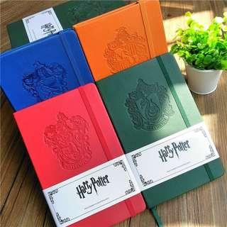 (4Col) Harry Potter Sorting House Slytherin Hufflepuff Gryffindor Ravenclaw Notebook