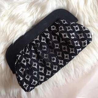 Black Lace Wallet