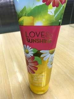 BBW Body Cream 226g - Love & Sunshine Ultra Shea