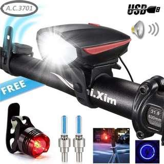 LED Headlight for Bicycle / escooter / eBike Headlight
