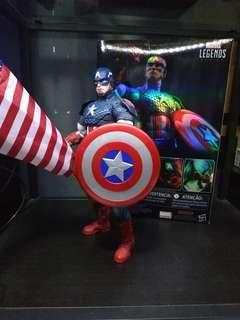Marvel legends icon captain America