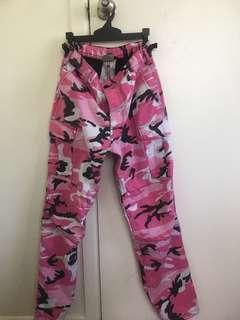 Camo Rothco Pants Pink Size S