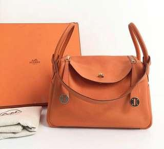 authentic Hermes Lindy #O size 30