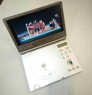 "Amoi 8"" Portable DVD CD Player AV in/out optical Audio Model : PDVD-V8"