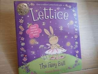 New Lettice the Fairy Ball children softcover girl story book & CD #NEW99