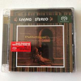🚚 [Living Stero] BNIB SACD Tchaikovsky Pathetique Symphony
