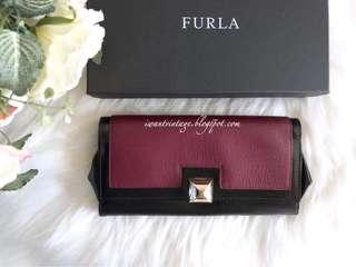 Furla Two-tone Leather Wallet/Clutch