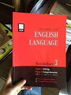 Secondary 3 English language workbook