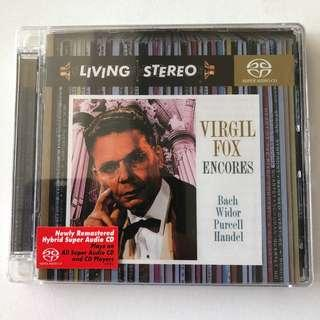 🚚 [Living Stero] BNIB SACD Virgil Fox Encores (Bach, Widor, Purcell, Handel)