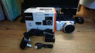 Sony A5000 相機連  E PZ 16-50mm 鏡頭