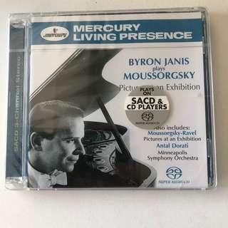 🚚 [Mercury Living Presence] BNIB SACD Byron Janis plays Moussorgsky