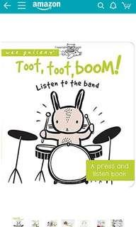 Toot, Toot, Boom by wee gallery