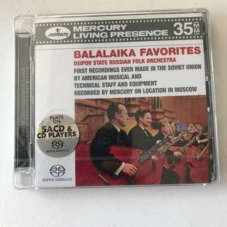 🚚 [Mercury Living Presence] BNIB SACD Balalaika Favorites