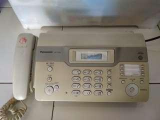 Jual telpon/fax panasonic
