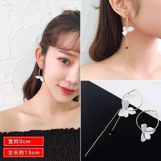 Flower Ear Hook Earring